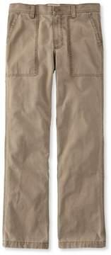 L.L. Bean L.L.Bean Flannel-Lined Fatigue Pants, Standard Fit