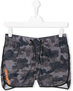 Trunks Rrd Kids TEEN camouflage swim shorts