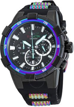 Invicta Aviator Chronograph Black Dial Men's Watch
