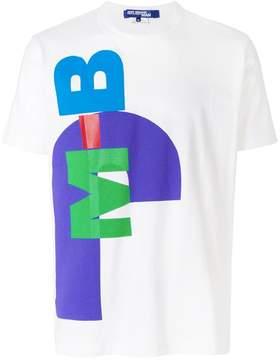 Junya Watanabe abstract text T-shirt