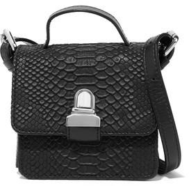MM6 Maison Margiela Faux Snake-Effect Leather Shoulder Bag