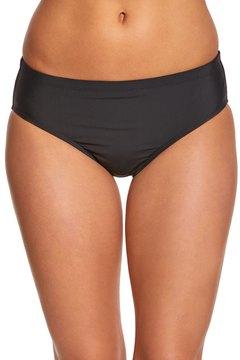 Athena Landa Cabana Solid Mid Waist Bikini Bottom 8146230