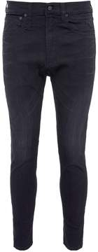 R 13 'Drop Black' slim fit jeans
