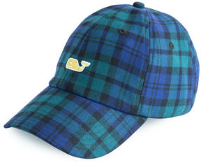Vineyard Vines Plaid Baseball Hat