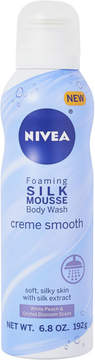 Nivea Silk Mousse Body Wash Creme Smooth