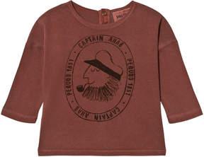 Bobo Choses Dark Red Captain Ahab T-Shirt
