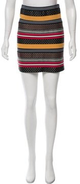 Boy By Band Of Outsiders Printed Mini Skirt