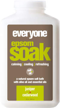 EO Epsom Soak - Juniper + Cedarwood by 30oz Bath Soak)