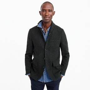J.Crew Unstructured shawl-collar workwear jacket in English wool