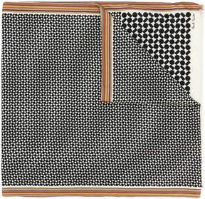 Paul Smith geometric motif scarf