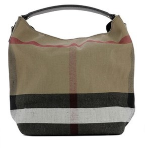 Burberry Women's Beige Fabric Tote. - BROWN - STYLE