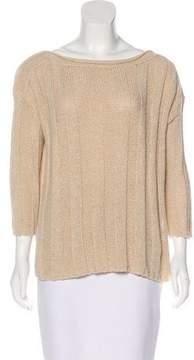 Calypso Knit Scoop Neck Sweater