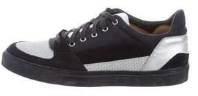 Dries Van Noten Suede Low-Top Sneakers
