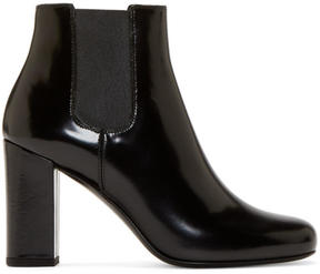 Saint Laurent Black Heeled Babies Boots
