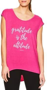 Gaiam Gratitude Attitude Graphic Tee