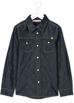 Miss Blumarine button up shirt