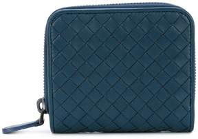 Bottega Veneta woven mini wallet