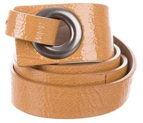 Brunello Cucinelli Patent Leather Belt
