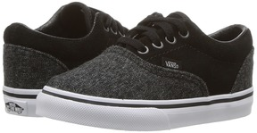 Vans Kids Era Black) Boys Shoes