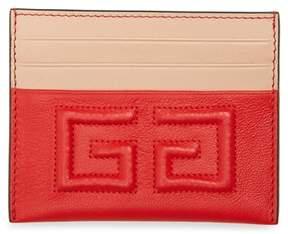 Givenchy Emblem Leather Card Case