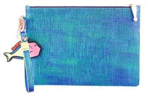 Sophia Webster Iridescent Leather Clutch