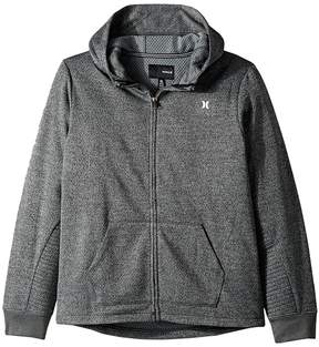 Hurley One and Only Therma Fit Full Zip Hoodie Boy's Sweatshirt