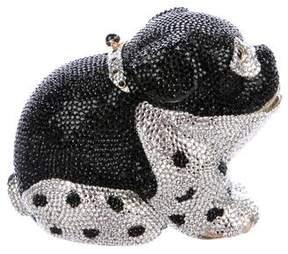 Judith Leiber Crystal-Embellished Dog Minaudière
