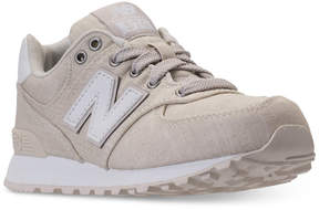 New Balance Little Boys' 574 Beach Chambray Casual Sneakers from Finish Line