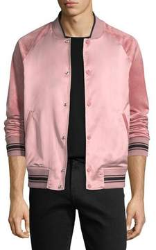 Ovadia & Sons Alex Satin Varsity Jacket