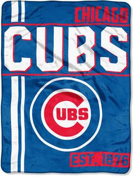 Northwest Company Chicago Cubs Micro Raschel 46x60 Walk Off Blanket