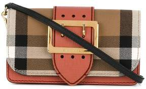 Burberry Buckle check bag - PINK & PURPLE - STYLE