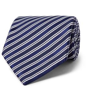Charvet 8.5cm Striped Silk-Jacquard Tie