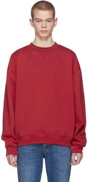 Acne Studios Red Flogho Sweatshirt