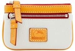 Dooney & Bourke Patterson Leather Small Coin Case - WHITE - STYLE
