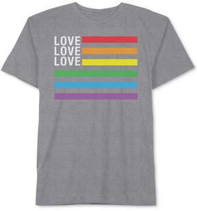 Hybrid Men's Love Love Love Graphic T-Shirt