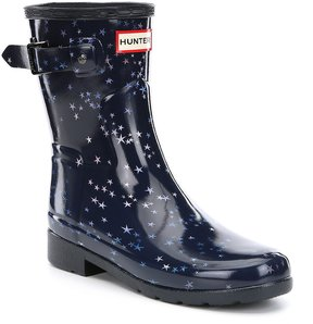 Hunter Short Refined Star Constellation Rain Boots