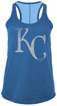 5th & Ocean Women's Kansas City Royals Foil Tank