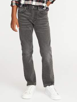 Old Navy Skinny Built-In-Flex Max Gray Karate Jeans for Boys