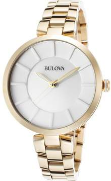 Bulova Watches Womens Stainless Steel Watch