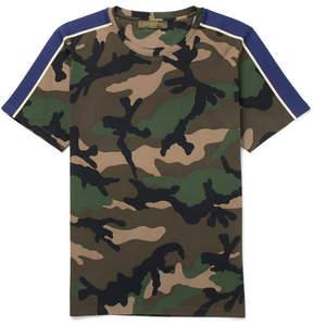 Valentino Slim-Fit Camouflage-Print Cotton-Jersey T-Shirt