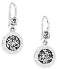 Lois Hill Granulated Silver Earrings