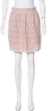 Matthew Williamson Crochet Pencil Skirt