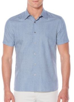 Perry Ellis Short-Sleeve Regular-Fit Cotton Polo