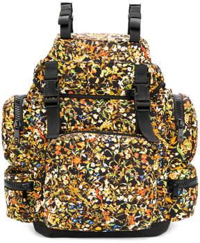 DSQUARED2 floral print backpack