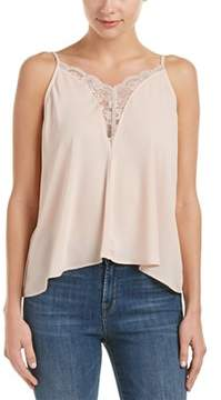 Eight Sixty Lace-trim Blouse.