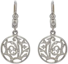 Cathy Waterman Women's Love Drop Earrings
