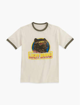 Lucky Brand COOL BEAR WITH GLASHORT SLEEVEES TEE