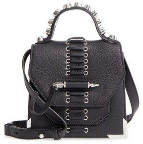 Mackage Mini Rubie Leather Crossbody Bag - Black