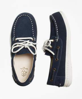 Brooks Brothers Leather Boat Shoe