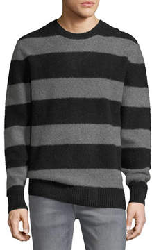 Joe's Jeans Men's Freddy Stripe Sweater w/ Zip Cuffs